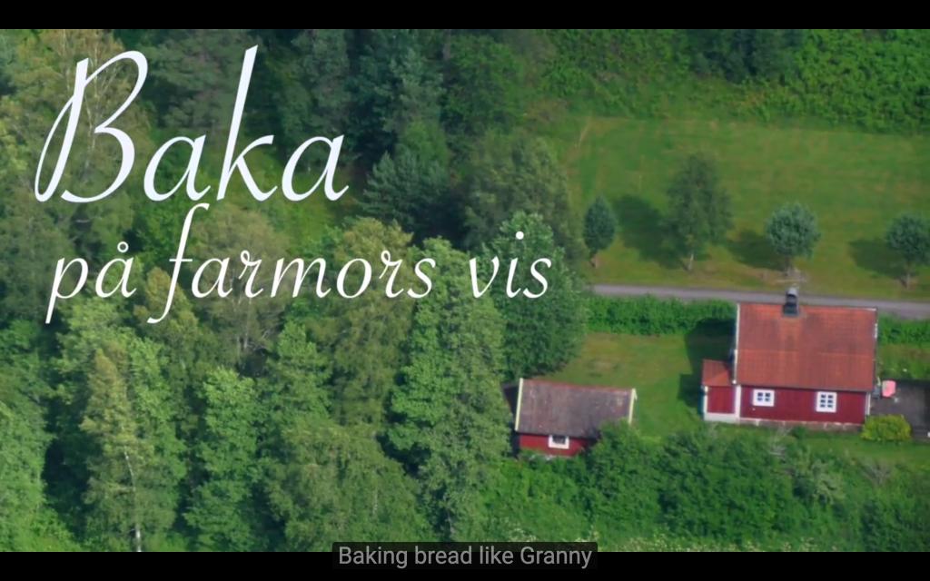 """Länk till filmen """"Baka på farmors vis"""". Öppnas i youtube.com"""
